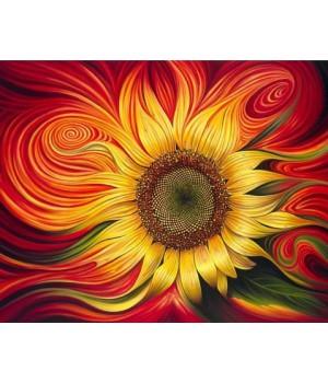 Яскравий соняшник