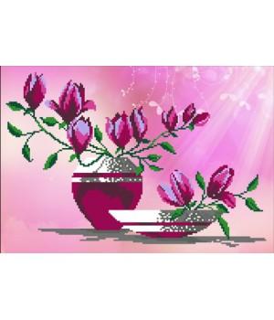 Рожеві магнолії